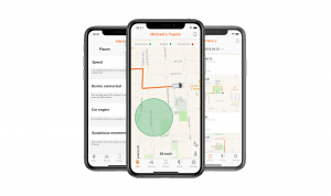 TrackingFox car tracker app